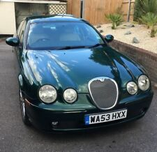 JAGUAR S-Type V6 Sport Auto, Green in immaculate condition