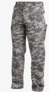 US Army Military ACU Digital Camo Uniform Set Trousers and Coat