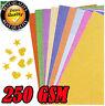 Glitter Backing Paper sheet Frame 250 GSM Pink, Silver, Black, Grey, Gold