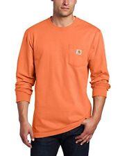 Carhartt Mens Workwear Pocket Long Sleeve T Shirt Midweight Jersey Original Fit