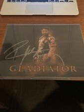 """Russell Crowe """" Gladiator """" Signed 8x10 Photo Autograph Coa"""