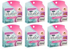 Schick Intuition Razor Blade Refills, Ultra Moisture Shea Butter, 18 Cartridges