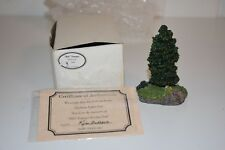 Harbour Lights Memorial Tree Bill's Younger Brother Bob 1999 Signed Box Coa