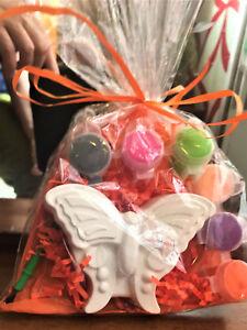 10 Butterflies party favors. Creative. DIY .To paint, birthday girl class,school