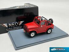 RARE! Suzuki LJ80 4х4 Open Canopy 1980 red NEO44005 1:43