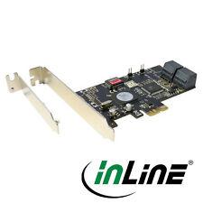 Inline PCI-Express mapa - 4x SATA 3gb/s, RAID 0,1,5,10, (SATA II)