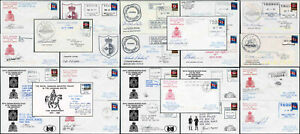 CANADIAN ARCTIC SIGNED COVERS RCMP Post Offices Coast Guard Ships..PRICED GROUPS