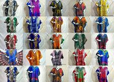 Wholesale Lot 50 Pcs Assorted African Women's Short Plus Size Kaftan Beach Dress