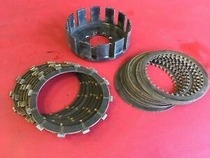 D17 Ducati 996 748 916 Kupplung Korb Kupplungsbeläge  Stahlscheiben