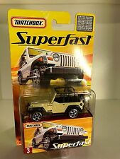MATCHBOX Superfast Nr. 3 JEEP WRANGLER - Limited Edition