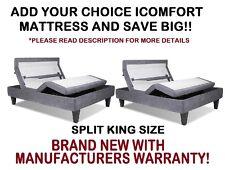 Serta iComfort Split King Size Motion Custom II Adjustable Bed Base Foundation