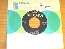 """60s GARAGE 45 RPM - SAM THE SHAM - MGM 13364 - """"JU JU HAND"""" + """"BIG CITY LIGHTS"""""""