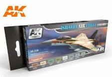 AK02150 AK Interactive Paint Set - Israeli Air Force Colours