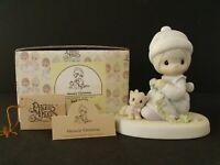 """PRECIOUS MOMENTS """"MEOWIE CHRISTMAS"""" - #109800 - NEW IN BOX"""
