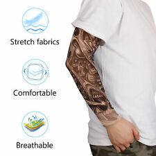 1 pc Fake Temporary Tattoo Sleeves Arm Stockings Tatoo Cool Women Men Unisex US