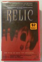 The Relic VHS 1997 Horror Peter Hyams PolyGram Large Case Release