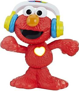 "Sesame Street Let's Dance Elmo Singing Dancing Interactive 12"" Toddler Toy"