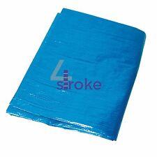 Tarpaulin Waterproof Sheet 3.6mx4.8m Heavy Duty Cover Tarp PVC