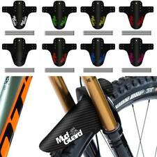 MTB Bicycle Fenders Colorful Front/Rear Tire Wheel Carbon Fiber Cycling Mudguard
