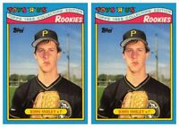 (2) 1988 Topps Toys R' Us Rookies Baseball 28 John Smiley Lot Pirates