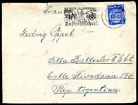 GERMANY TO ARGENTINA Cover 1939, NICE!