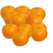 12pcs orange artificielle Large - plastique décorative Fruit oranges Faux