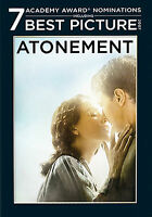 Atonement (DVD, 2008, Widescreen) James McAvoy Keira Knightley