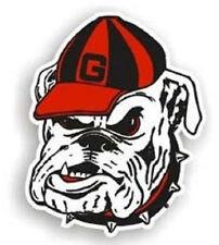 "Georgia Bulldogs Dog Logo 12"" Car Magnet [NEW] NCAA Auto Emblem Sticker Decal"