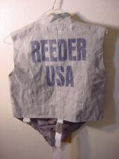 "FENCING JACKET SAYS ""REEDER USA"" SIZE 34"