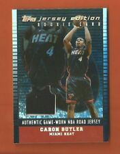 2002-03 TOPPS JERSEY EDITION BLACK RC CARON BUTLER JERSEY #d 26/99 MIAMI HEAT