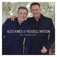 ALED JONES & RUSSELL WATSON IN HARMONY CD (Released November 9th 2018)