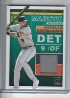 2019 Donruss Baseball Majestic Materials #MM-NC Nicholas Castellanos Relic Patch