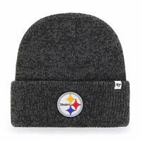Pittsburgh Steelers NFL '47 Brain Freeze Black Knit Winter Hat Cap Adult Beanie