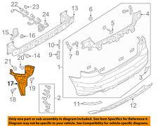 AUDI OEM 15-16 A3 Rear Bumper-Side Support Left 8V5807377