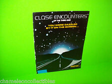CLOSE ENCOUNTERS OF THE THIRD KIND GOTTLIEB 1978 PINBALL MACHINE FLYER DIFFERENT
