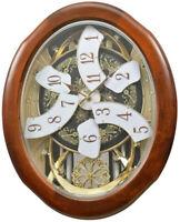 Rhythm Clocks Magnificent Magic Motion Clock (4MH884WD06)