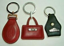 Menge 2 Original Longchamp Leder SCHLUSSELANHANGER Schlüsselanhänger & 1 El Char...