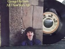 45Q*PIC SLEEVE*GEORGE HARRISON YEARS AGO/WRITINGS ON WALL ON DARK HORSE RECORDS