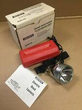 Vintage Brand New Justrite Electric Head Lantern 1904 19040 Miner's Light