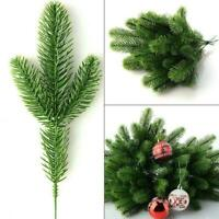 10 Stücke Künstliche Tannenzweige Weihnachten Weihnachten Home Dekore P1U5