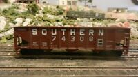 Roundhouse MDC HO 40' Southern Ry Triple Bay Hopper, Upgraded, Exc.