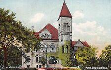 Dayton Ohio 1910 Postcard Public Library