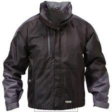 Zip Hip Length Fleece Raincoats for Men
