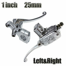"1"" Left right Motorcycle Brake Master Cylinder Clutch Lever For Harley Yamaha"