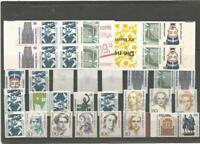 BRD Lot ** (Dauermarken 1987 - 1996 + 2 MH); KW: 44,70 Euro