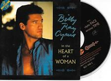 BILLY RAY CYRUS - In the heart of a woman CD SINGLE 2TR EU CARDSLEEVE 1993