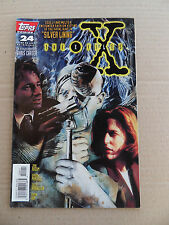 X-Files ,The (TV)  24 . Topps . 1996 -   VF