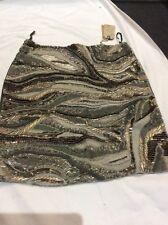 BNWT ALL SAINTS TIGRE Skirt UK 12 Beaded RRP £250