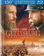 Gettysburg Blu-ray 1993 Tom Berenger 2 Disc Digibook Directors Cut