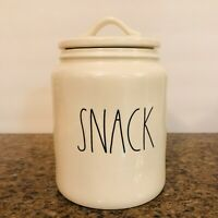 Rae Dunn Large SNACK Canister LL